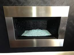 stainless steel fireplace surrounds unique stainless designs