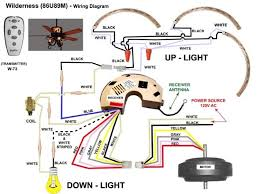 wiring diagram for ceiling fan light ceiling fan wiring red wire