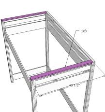 Build Your Own Loft Bed Free Plans by Ana White How To Build A Loft Bed Diy Projects