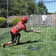 hit at home backyard batting cage jugs sports