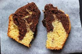 orange mocha marble cake u2013 real simple food