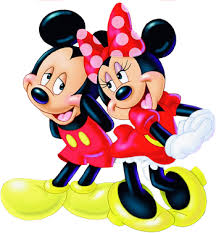 mickey mouse gang minnie mouse wall decal