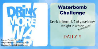 Water Bomb Challenge Water Femme Fitale Fit Club