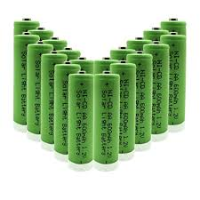 rechargeable aa batteries for solar lights geilienergy 1 2v aa nicd 600mah rechargeable battery for solar light