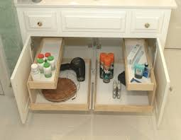 bathroom under sink bathroom storage solution organizing master