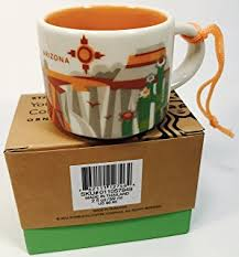 mug ornament california starbucks you are here ornament 2oz