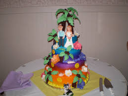 hawaiian wedding cake hawaiian wedding cake cake toppers on
