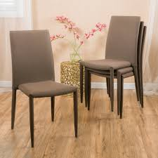 Stackable Dining Room Chairs Christopher Home Comstock Fabric Stackable Dining Chair