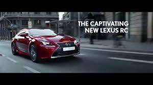 lexus car commercial lexus rc commercial