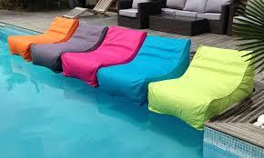 canapé gonflable piscine fauteuil de piscine groupon shopping