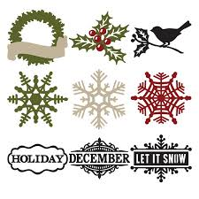 cricut teresa collins december 25th seasonal cartridge cricut