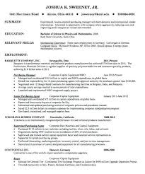 purchasing manager resume cover letter retail operations example