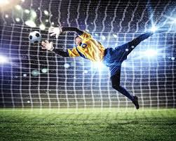 football goalkeeper wall mural photo wallpaper by loveabode com sp137179712 goalkeeper in the spotlight 2p