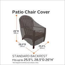 Chair Care Patio by Amazon Com Classic Accessories Ravenna Standard Patio Chair
