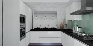 most beautiful modern kitchens white modern kitchen christmas lights decoration