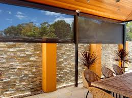 Patio Roll Down Shades Blinds Fair Blinds For Outside Patio Patio Shades Ideas Outdoor