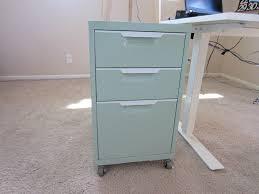 Teal File Cabinet Vintage Modern A Peek My Home Office