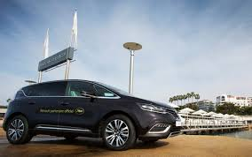 renault espace f1 renault espace is the official car of cannes 2015
