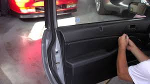 Car Interior Cloth Repair Door Panel Repair On A Honda Civic Redwood City By Cooks
