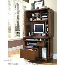 Computer Hutch Armoire Computer Desk With Cabinet Armoire Workstation Best 25 Ideas On