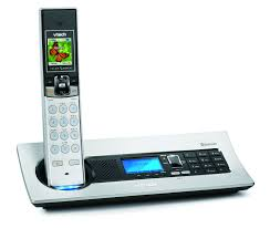 new vtech r cordless phone system combines high end style with