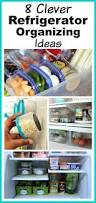 8 clever refrigerator organizing ideas hacks to gain space in