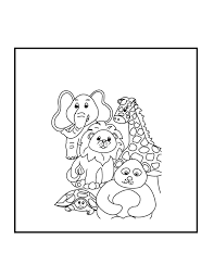 fantastic animal coloring pages with zoo animals coloring pages