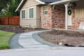 Pea Gravel Front Yard - front yard update 1 2 walkway completed simply organized