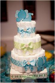 anzelle elephant themed baby shower