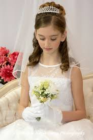 communion dresses on sale heavily beaded satin dress with lace overlay