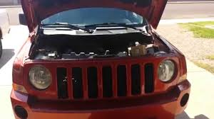 jeep patriot 2008 error p2017 sport 2 4 l help youtube