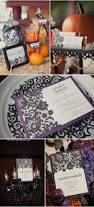 halloween wedding invitation 34 best table decor images on pinterest halloween weddings