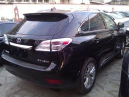 lexus jeep 2015 price in nigeria nigeria custom service impounded 2010 lexus rx450 for auctioning a