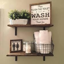 Bathroom Shelves Pinterest Fancy Decorating Bathroom Shelves Dway Me