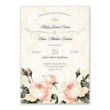 vintage invitations vintage garden foil invitation invitations by