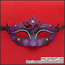 buy masquerade masks new design wholesale diamond masquerade mask of purple and black