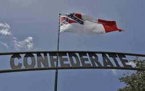 Confederate Flag With Eagle Meaning Huge Confederate Flag Near Interstate Is One Man U0027s Mission