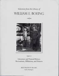 boeing cover letter part ii of the william boeing library from restoration books