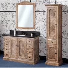 Bathroom Vanities 22 Inches Wide by Antique Wk Series 48 Inch Rustic Single Sink Bathroom Vanity