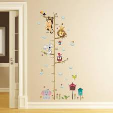 Owl Wall Sticker Compare Prices On Owl Growth Chart Online Shopping Buy Low Price