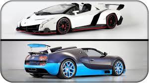 bugatti veyron vs lamborghini veneno bugatti veyron ss vs lamborghini veneno rubenillo17