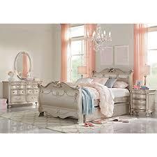 White Princess Bed Frame Disney Princess Silver 5 Pc Sleigh Bedroom Bedroom