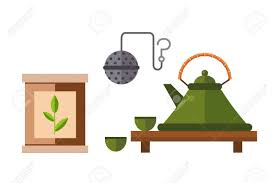 drink vector tea ceremony traditional asian drink vector illustration japanese
