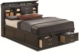 queen bed frame storage