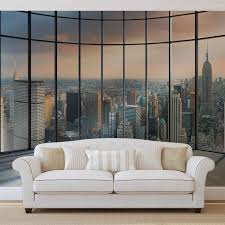 3d wall murals wallpaper murals buy online at europosters view new york city