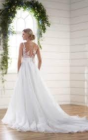 Unique Wedding Dress Unique Wedding Dress Asymmetrical Neckline Essense Of Australia