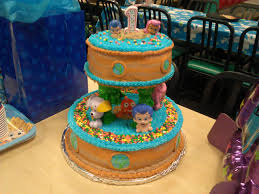 bubble guppies 1st birthday coolest birthday cakes