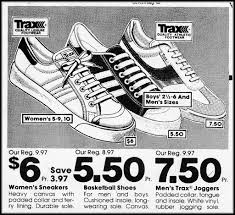 kmart s boots on sale k mart trax sneakers 1982 last ad of my special flickr