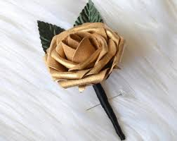 gold boutonniere disney boutonniere etsy