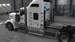 2016 kenworth w900 uncle d logistics celadon logistics kenworth w900 skin mod